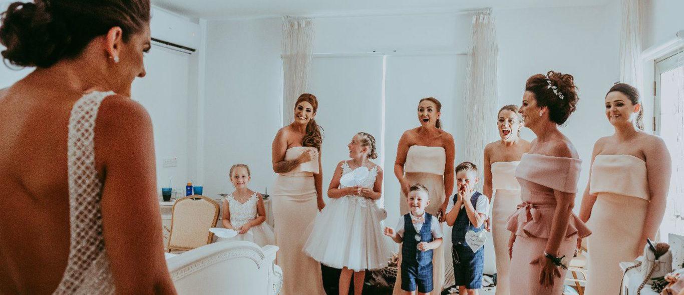 Villa weddings in Cyprus